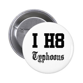 typhoons pinback buttons