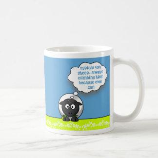 Typical 4x4 coffee mug