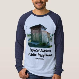 Typical Alaskan Public Restrooms T-shirt