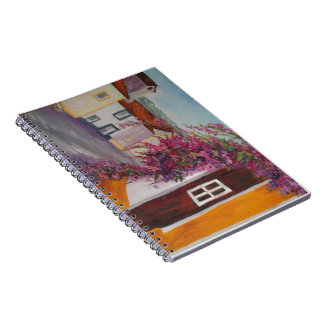 typical alentejo houses spiral note books