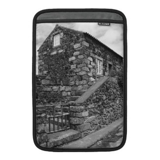 Typical azorean basalt house MacBook sleeve