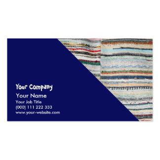 Typical azorean blanket business card