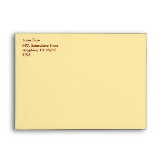 Typical azorean blanket envelope