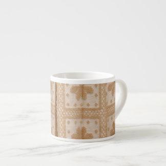 Typical azorean blanket espresso cup