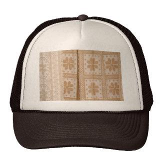 Typical azorean blanket trucker hat