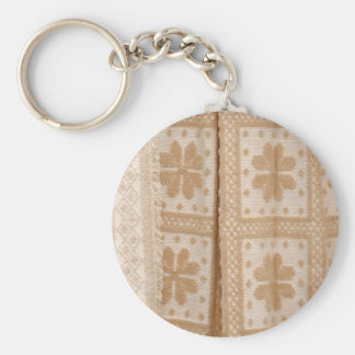 Typical azorean blanket key chain
