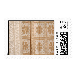 Typical azorean blanket postage stamp