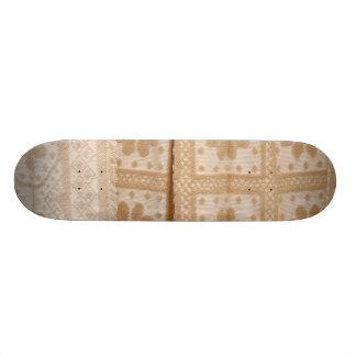 Typical azorean blanket skateboard deck