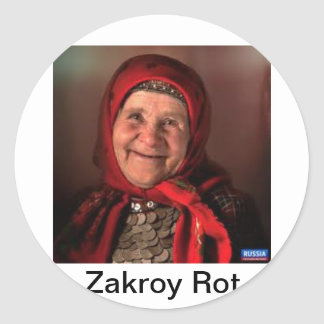 Typical Babushka Stickers