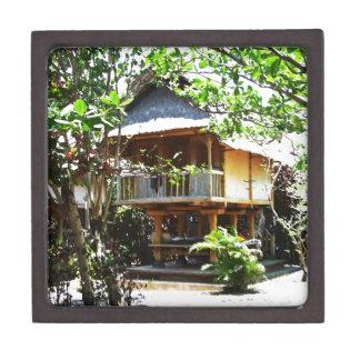 Typical Bali bungaloo Jewelry Box