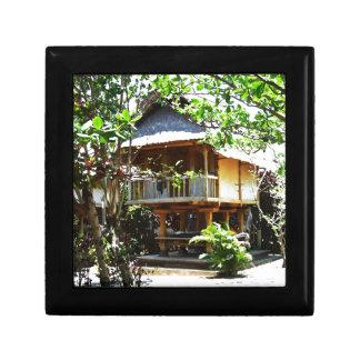 Typical Bali bungaloo Keepsake Box