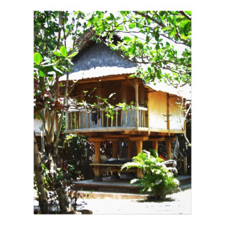 Typical Bali bungaloo Letterhead