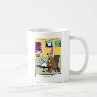 Typical Beaver Last Will & Testament Coffee Mug