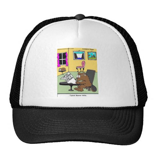 Typical Beaver Last Will & Testament Hats