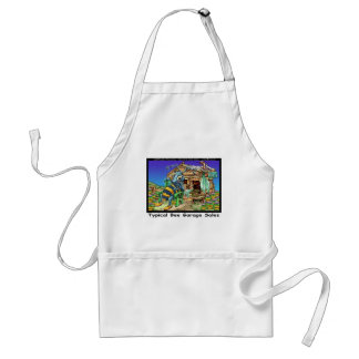 Typical Bee Garage Sales Funny Gifts & Tees Adult Apron