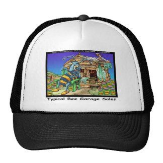 Typical Bee Garage Sales Funny Gifts & Tees Trucker Hat