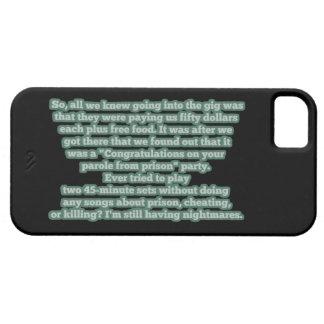 Typical Bluegrass No. 1 - Prison Parole Party iPhone SE/5/5s Case