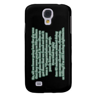 Typical Bluegrass No. 1 - Prison Parole Party Samsung Galaxy S4 Case