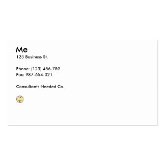 Typical Business Card