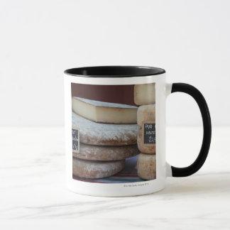 typical cheeses of pyrenees mug