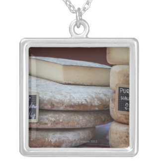 typical cheeses of pyrenees custom necklace