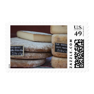 typical cheeses of pyrenees postage