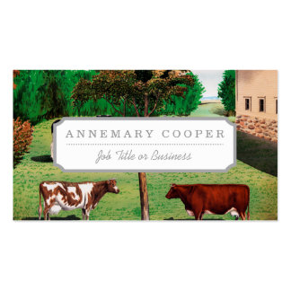 Typical Cows Business Card