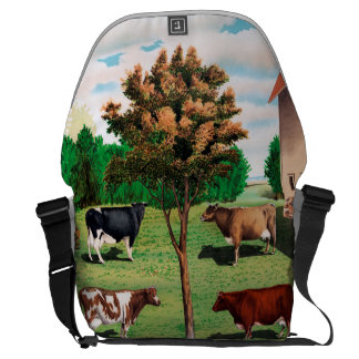 Typical Cows Messenger Bag