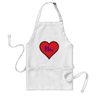 typical family adult apron