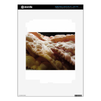 Typical italian carnival sweets decal for iPad 3