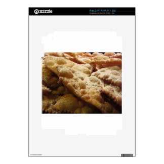 Typical italian carnival sweets skin for the iPad 2