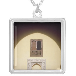 Typical Moroccan Window Personalized Necklace