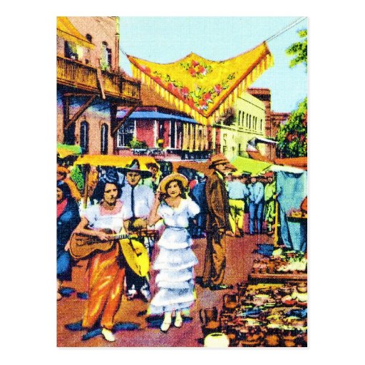 Typical of Early Los Angeles - Olvera Street Post Cards