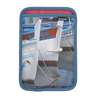 Typical Provencal fishing boats painted in 2 iPad Mini Sleeve
