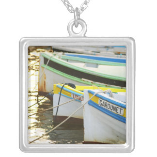 Typical Provencal fishing boats painted in Jewelry