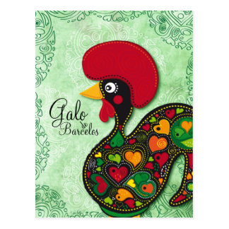 Typical Rooster of Barcelos - Galo de Barcelos Postcard