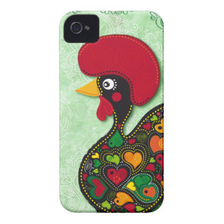 Typical Rooster of Barcelos iPhone 4 Case