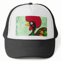 Typical Rooster of Barcelos Trucker Hat