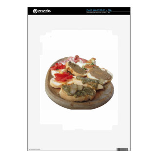 Typical rustic tuscan appetizer . Italian starter Skin For iPad 2