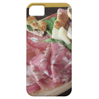 Typical rustic tuscan appetizer with crostini iPhone SE/5/5s case