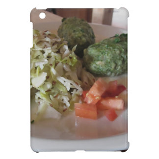 Typical South Tyrolean dish of canederli pasta iPad Mini Cover