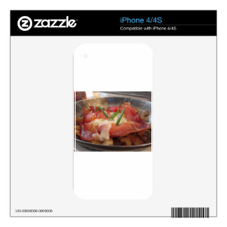 Typical South Tyrolean dish served pan fried iPhone 4 Decal