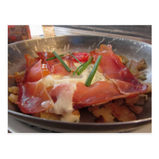 Typical South Tyrolean dish served pan fried Postcard