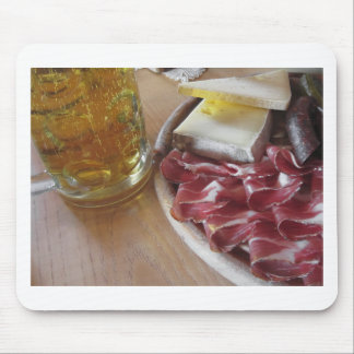 Typical South Tyrolean snack Mouse Pad