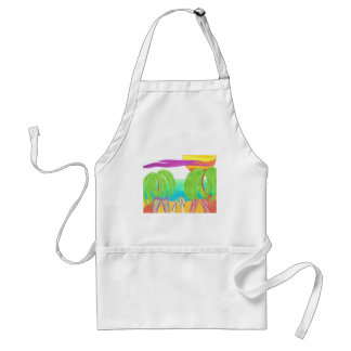 Typical Tropical Day Adult Apron