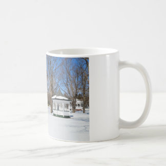 Typical Vermont Town In Winter Coffee Mug
