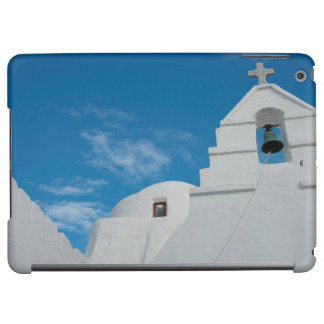 Typical whitewashed church cover for iPad air