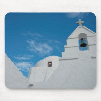 Typical whitewashed church mouse pad