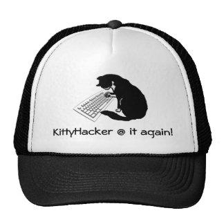 Typing Cat Trucker Hats