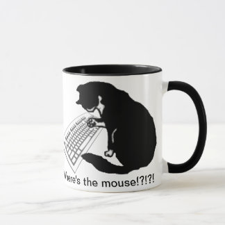 Typing Cat Mug